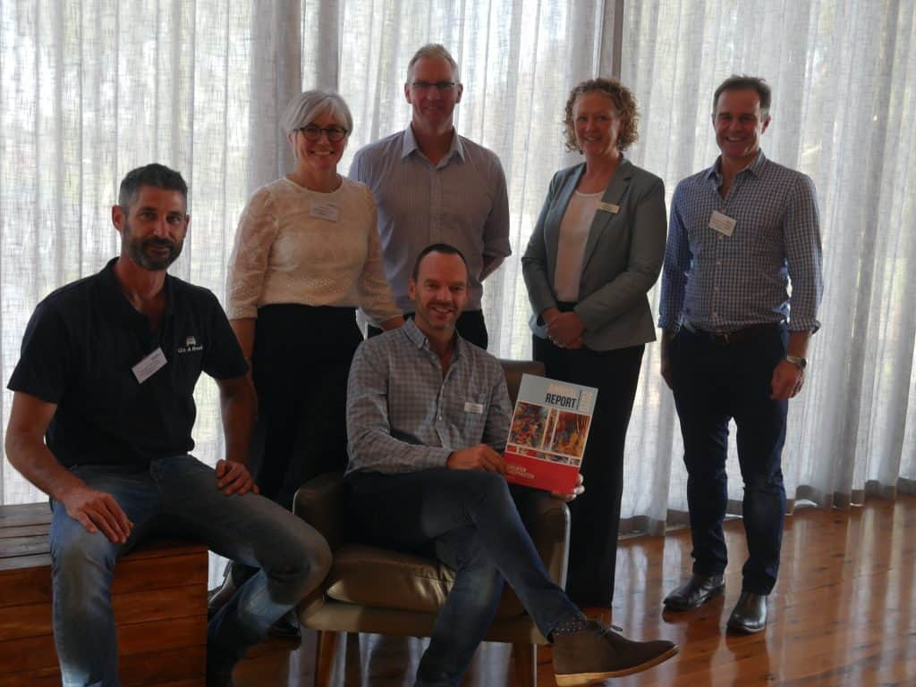 C4GS Board Members with latest Annual Report