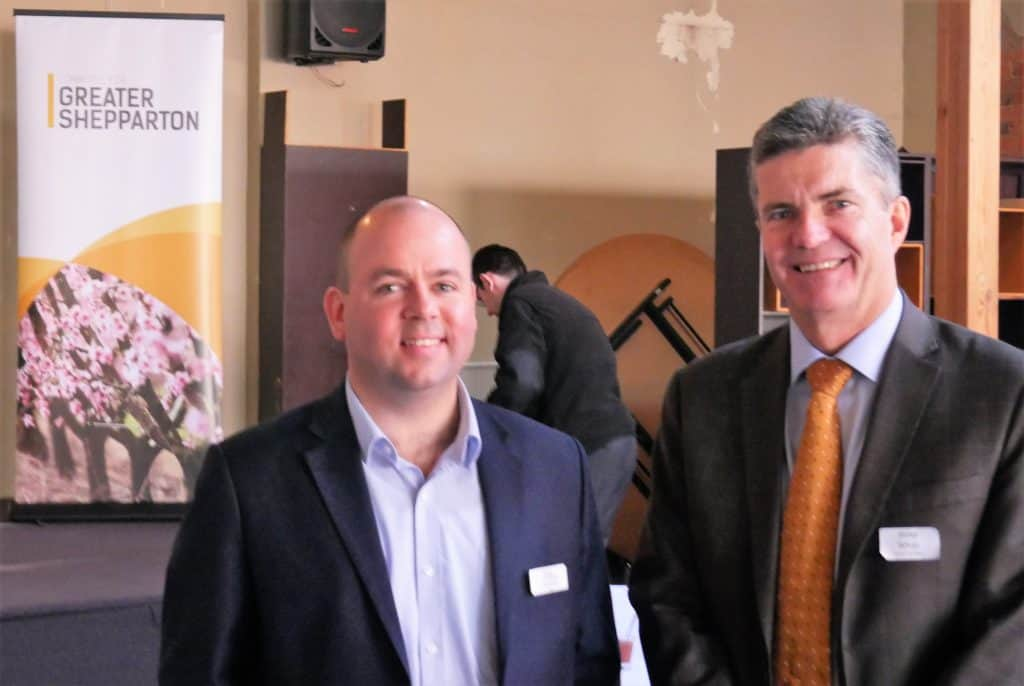 C4GS CEO Sam Birrell & Steve Whan
