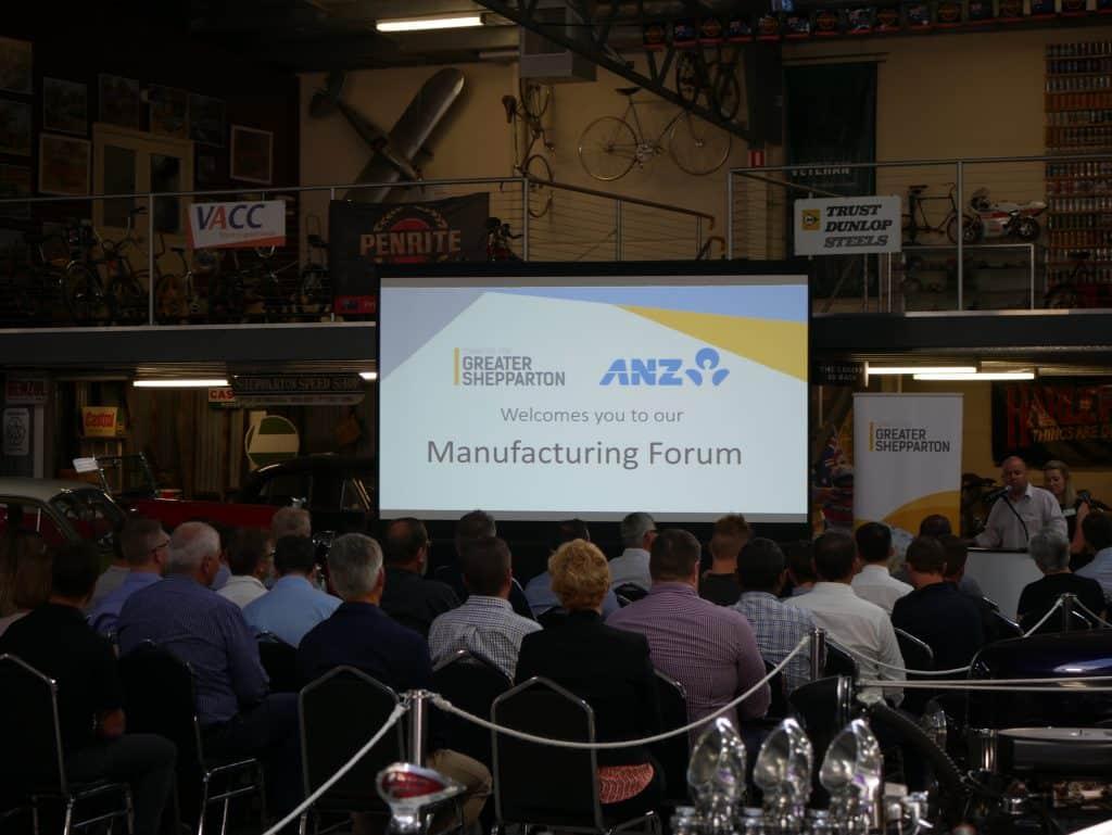 Manufacturing Forum 23/11/2017