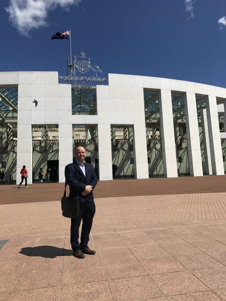 CEO Sam Birrell Canberra Trip