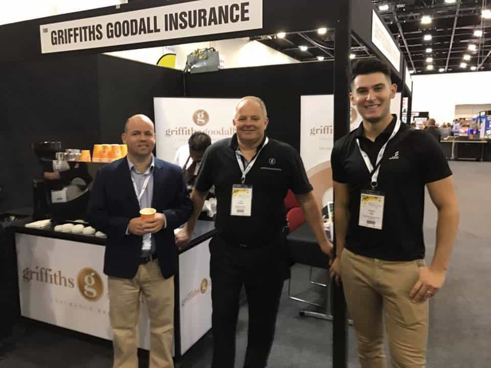 Sam Birrell, John Griffiths & Rohan Sali at the National Horticultural Convention in Adelaide 15/05/2017