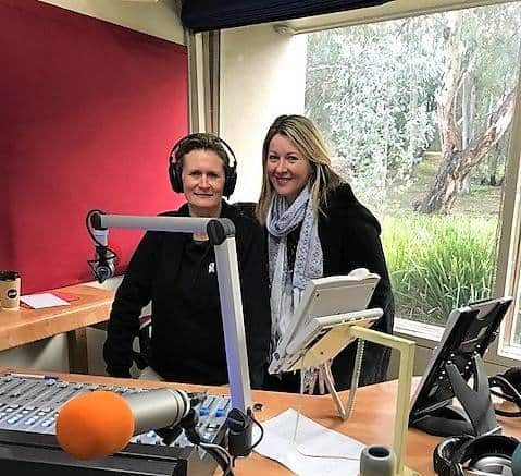 Deanne Armstrong & Terri Cowley at One FM 98.5